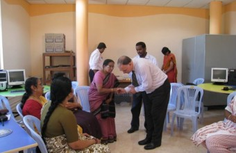Inaugurating a Math Lab in Mysore 2007