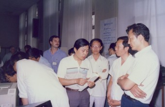 In 1986 Steve and his father brought the first computers for education to China and helped establish the Computer Education Department at the People's Education Press.
