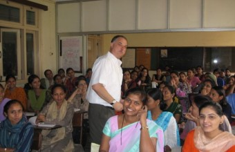Lecture for Preservice Teachers at a Women's College, Mumbai, India, 2007.