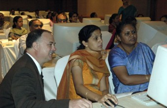 Workshop for Teachers in India, 2007.